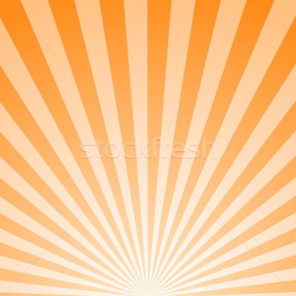 Művészet csíkos absztrakt hasonló retro poszter Stock fotó © ExpressVectors