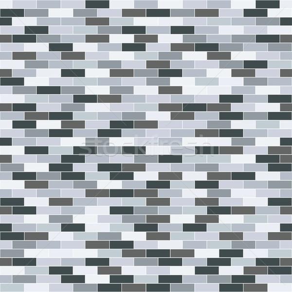 Mattone ripetibile texture vettore senza soluzione di continuità muro Foto d'archivio © ExpressVectors