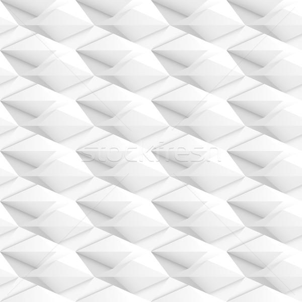 Stok fotoğraf: Beyaz · doku · 3D · geometrik