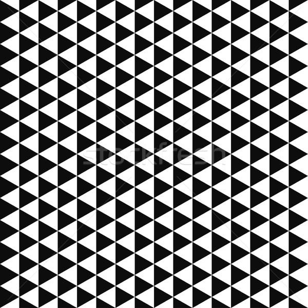 Mértani végtelen minta megismételhető feketefehér üzlet háló Stock fotó © ExpressVectors