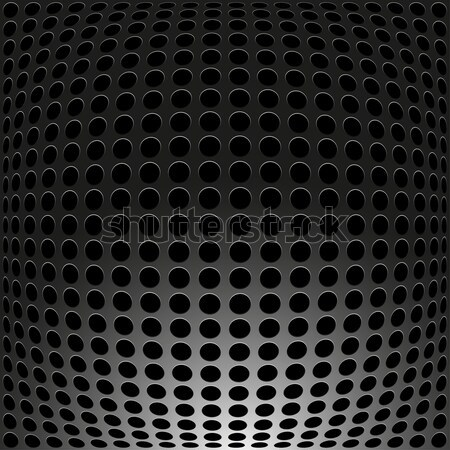 Siyah Metal karbon dizayn uzay sanayi Stok fotoğraf © ExpressVectors