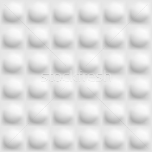 Blanco volumen textura sin costura vector pared Foto stock © ExpressVectors