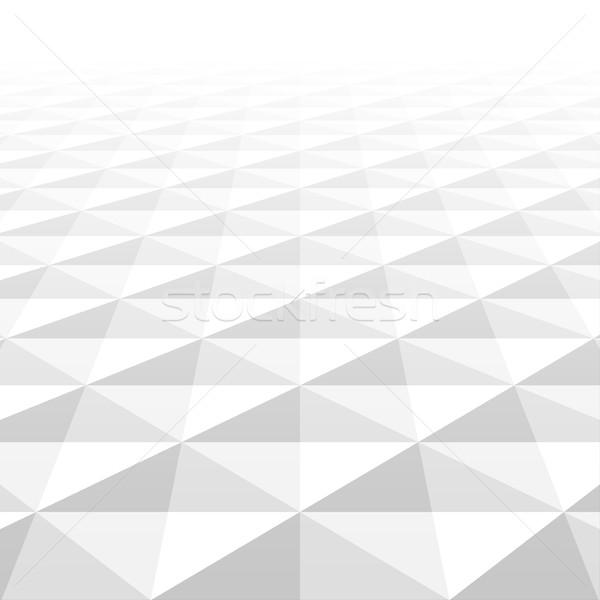 抽象的な 白 幾何学的な 背景 クリーン ストックフォト © ExpressVectors