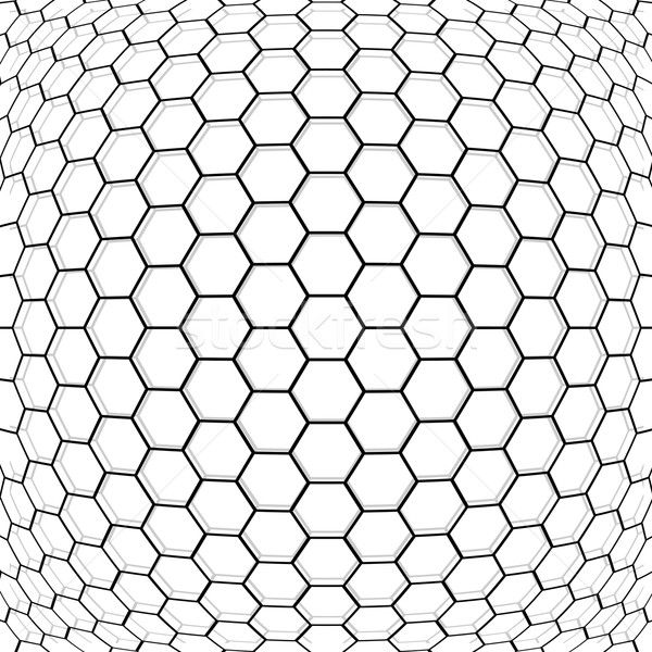Hexagon abstract background. Stock photo © ExpressVectors
