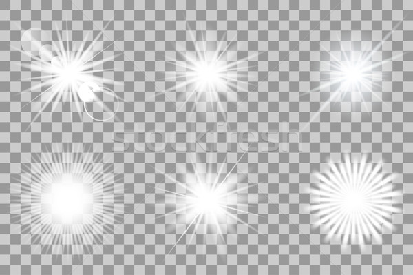 Collection of vector lights effect. Stock photo © ExpressVectors