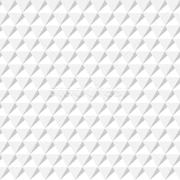 Beyaz geometrik doku dekoratif vektör Stok fotoğraf © ExpressVectors