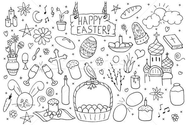 Foto stock: Coleção · flores · comida