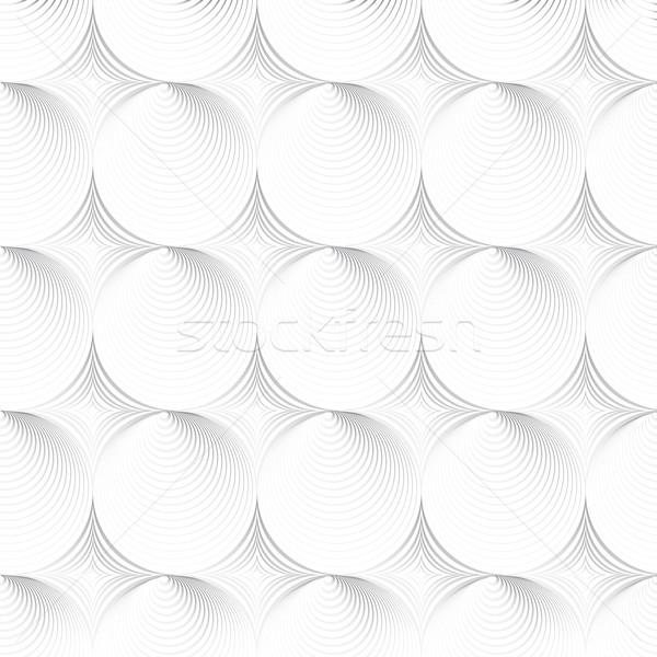 Bianco texture senza soluzione di continuità geometrica vettore muro Foto d'archivio © ExpressVectors