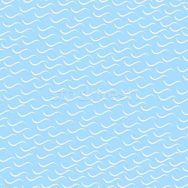 Golvend mozaiek patroon naadloos eps10 achtergrond Stockfoto © ExpressVectors