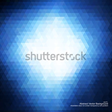 Blue abstract background. Stock photo © ExpressVectors