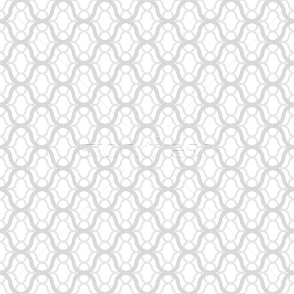 Végtelenített díszítő minta fehér szürke textúra Stock fotó © ExpressVectors