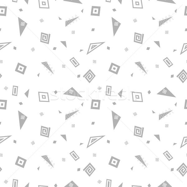 Wektora streszczenie wzór mozaiki geometryczny Zdjęcia stock © ExpressVectors