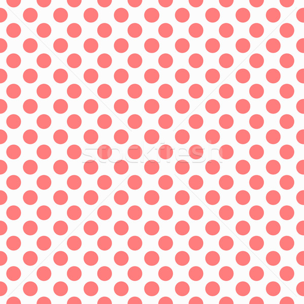 Red dots pattern, seamless Stock photo © ExpressVectors