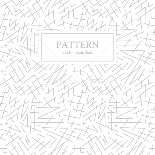 Seamless stripes sketch pattern. Hand drawn design. Stock photo © ExpressVectors