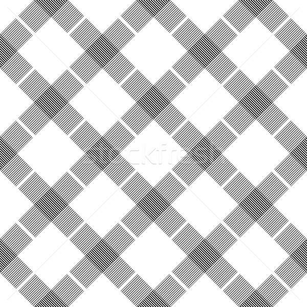 Geometric striped pattern - seamless. Stock photo © ExpressVectors