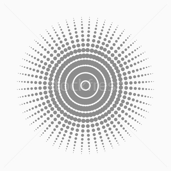 Abstract dot shape, vector design element Stock photo © ExpressVectors