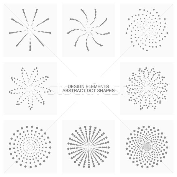 аннотация точка вектора набор Сток-фото © ExpressVectors