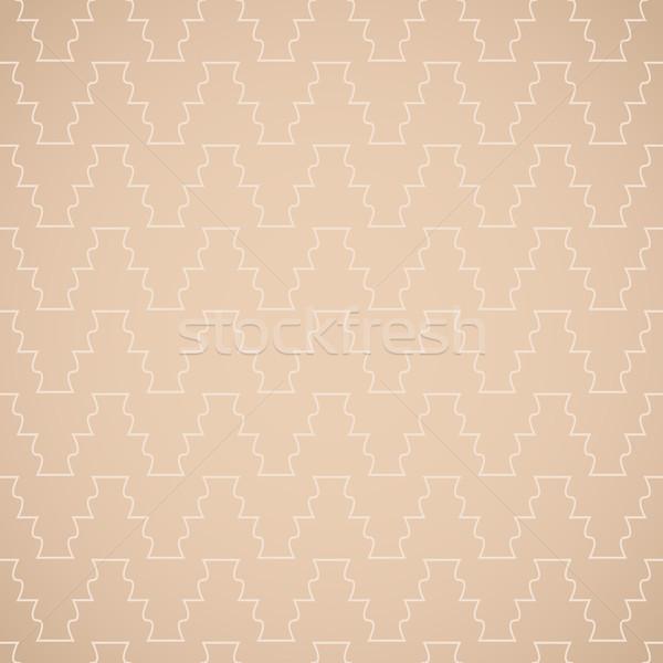 декоративный антикварная шаблон вектора бесшовный Сток-фото © ExpressVectors