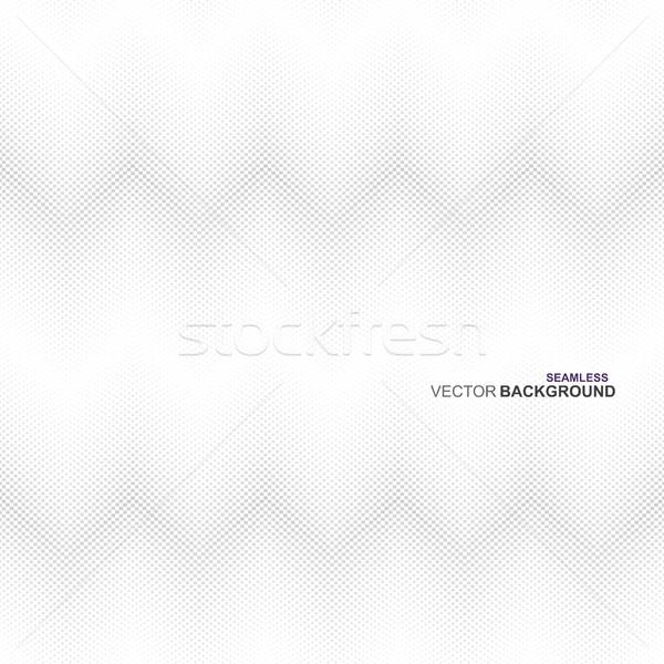 Tessuto texture vettore senza soluzione di continuità bianco grigio Foto d'archivio © ExpressVectors