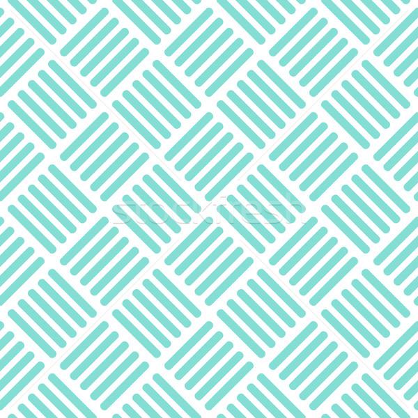 аннотация бесшовный вектора шаблон бирюзовый цвета Сток-фото © ExpressVectors