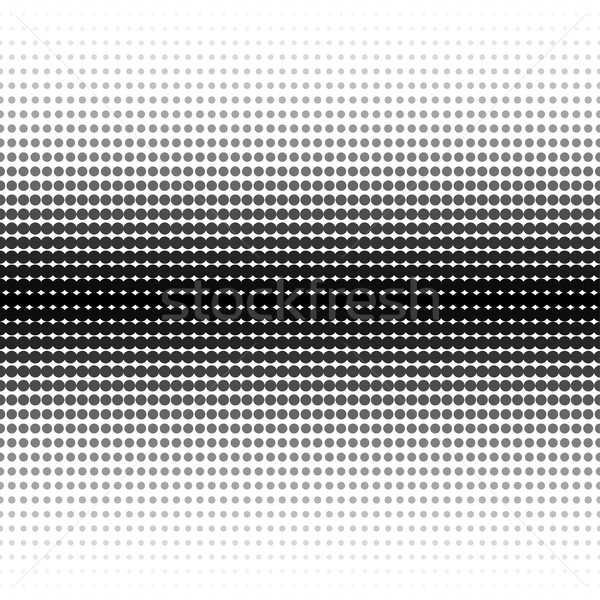 Vector halftone dotted background - seamless.  Stock photo © ExpressVectors