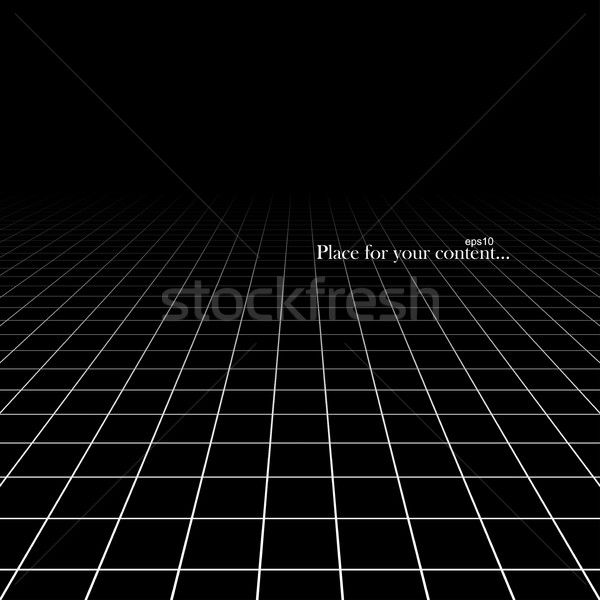 черный аннотация перспективы eps10 фон шаблон Сток-фото © ExpressVectors