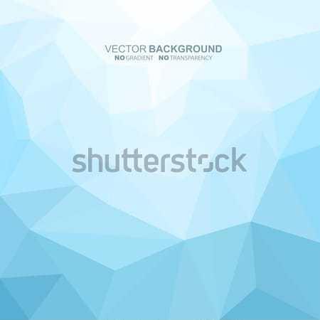 Absztrakt mértani kék nem gradiens átláthatóság Stock fotó © ExpressVectors