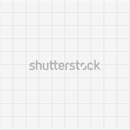 белый плитка текстуры бесшовный геометрический вектора Сток-фото © ExpressVectors
