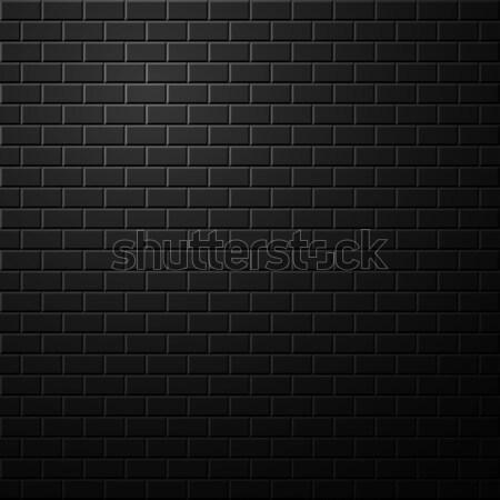 Sombre mur de briques résumé lumière intérieur Photo stock © ExpressVectors