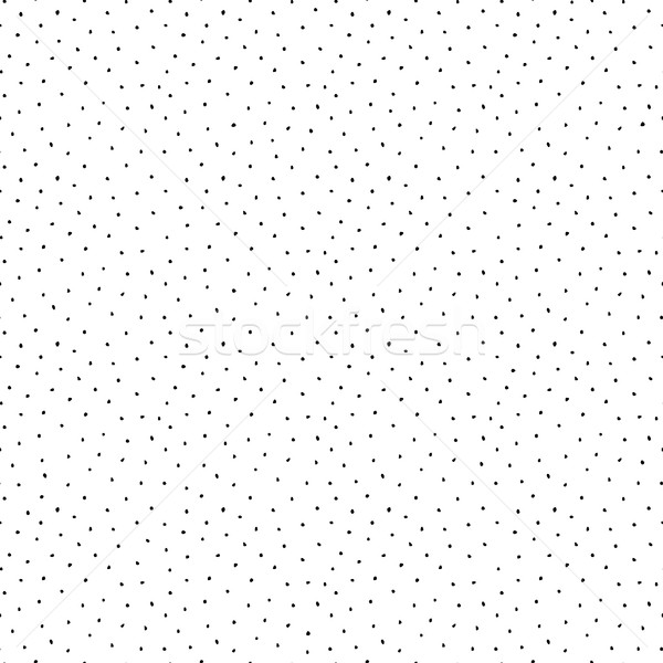 Drawing dotted pattern - seamless. Stock photo © ExpressVectors