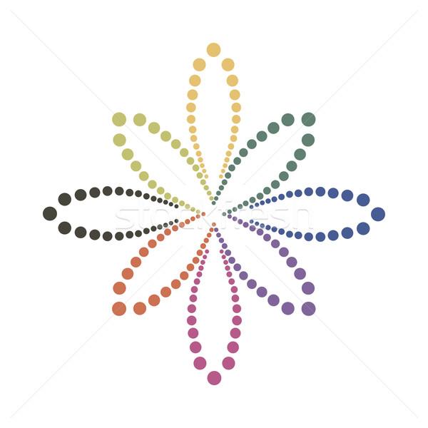 Foto stock: Resumen · colorido · color · flor · textura