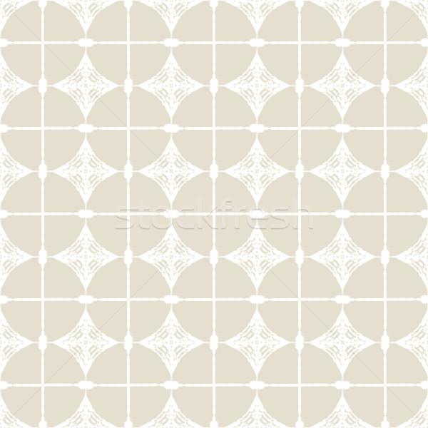 Disegno geometrico floreale pattern design idee ragazza Foto d'archivio © ExpressVectors