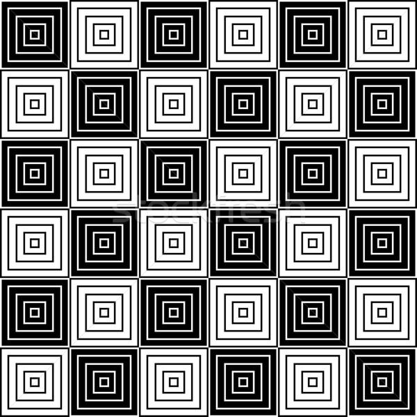 Black and white geometric texture. Stock photo © ExpressVectors