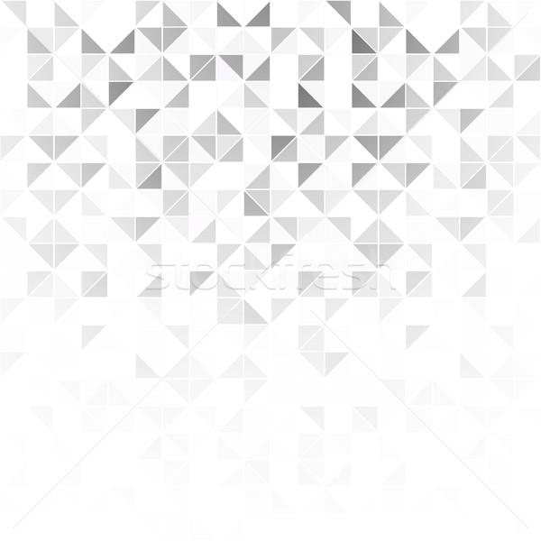 Abstract geometrica luce design mosaico cadere Foto d'archivio © ExpressVectors