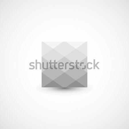 Abstract geometric icon Stock photo © ExpressVectors