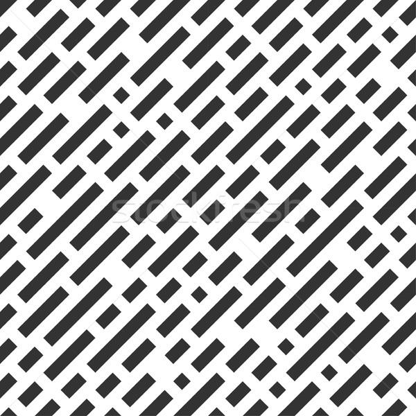 Ripetibile bianco pattern nero design Foto d'archivio © ExpressVectors