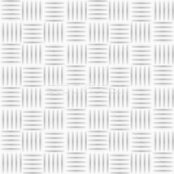 Fehér csempe textúra végtelenített vektor fény Stock fotó © ExpressVectors