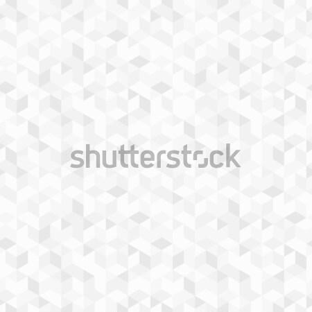Geometrik desen vektör geometrik mozaik model Stok fotoğraf © ExpressVectors