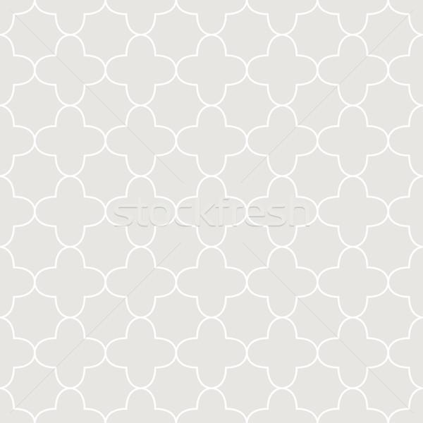 Mértani díszítő minta végtelenített vektor textúra Stock fotó © ExpressVectors