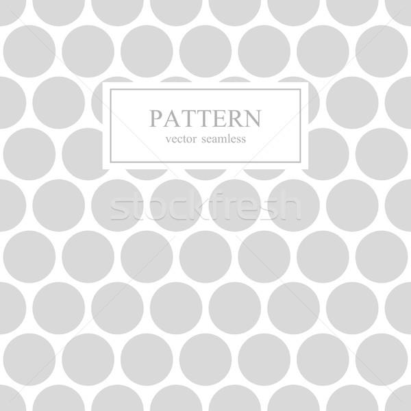белый серый пунктирный бесшовный геометрическим рисунком геометрический Сток-фото © ExpressVectors