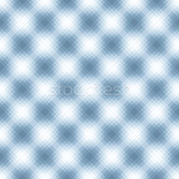Streszczenie niebieski geometryczny wzór nie gradienty przezroczystość Zdjęcia stock © ExpressVectors