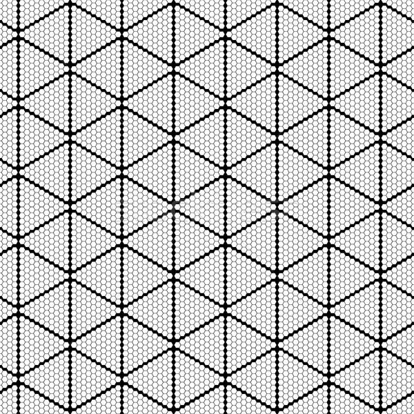 Disegno geometrico senza soluzione di continuità vettore punto texture arte Foto d'archivio © ExpressVectors