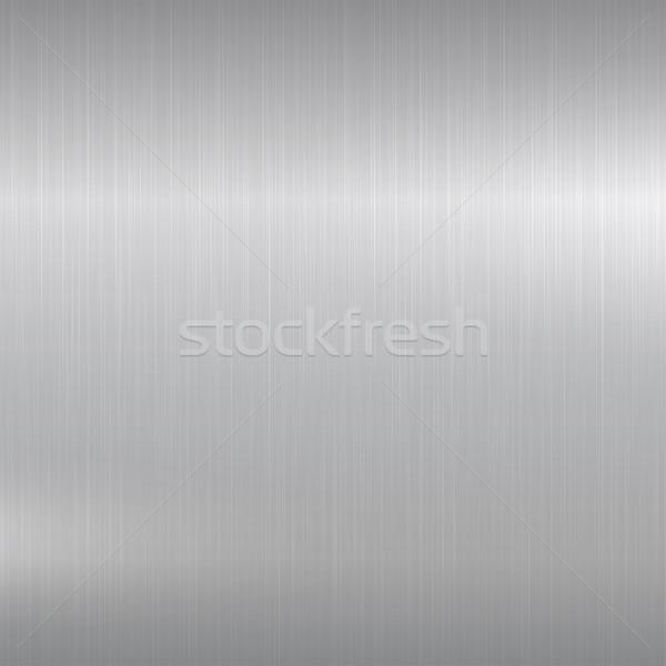 Metaal gepolijst chroom oppervlak textuur licht Stockfoto © ExpressVectors