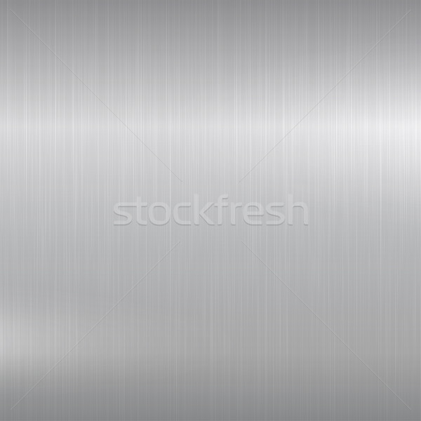 Metal background. Polished chrome surface. Stock photo © ExpressVectors