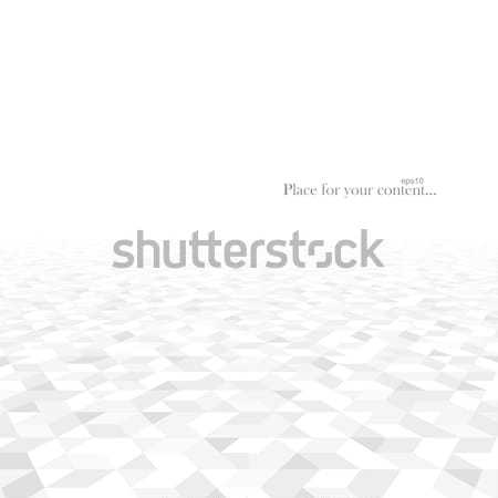 Abstract geometric background with a perspective. Stock photo © ExpressVectors
