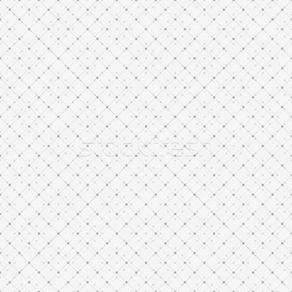 Seamless dot pattern, vector background Stock photo © ExpressVectors