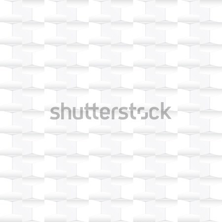 White geometric texture - seamless. Stock photo © ExpressVectors