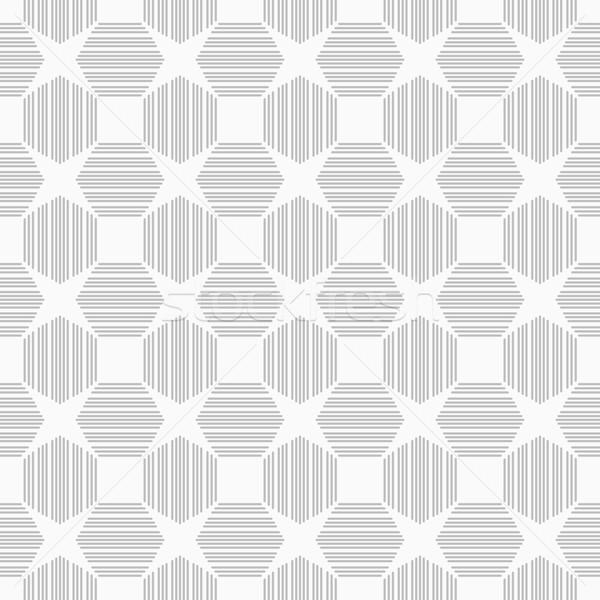 Motif géométrique design intérieur wallpaper blanche Photo stock © ExpressVectors