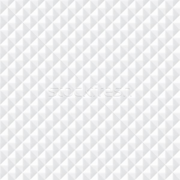 Blanche texture vecteur géométrique mur Photo stock © ExpressVectors