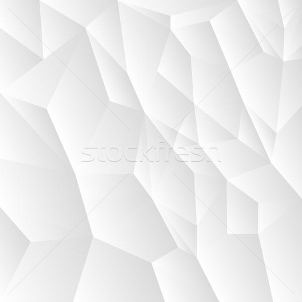 Abstract vector mozaiek witte grijs textuur Stockfoto © ExpressVectors